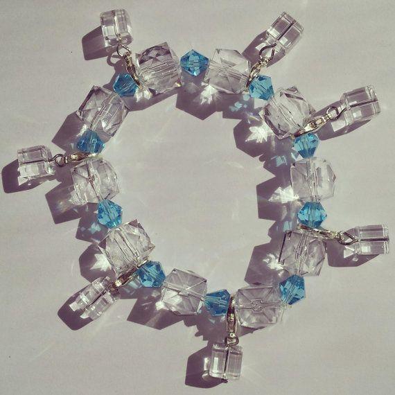 Rock Salt Charm Bracelet by ZedorablePandorica on Etsy, $10.00
