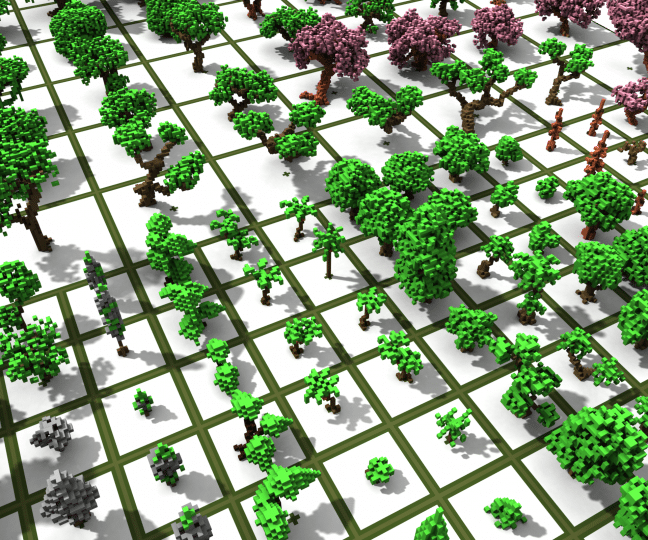 Tree Bundle 370 Custom Trees Minecraft Tree Minecraft Blueprints Minecraft Projects