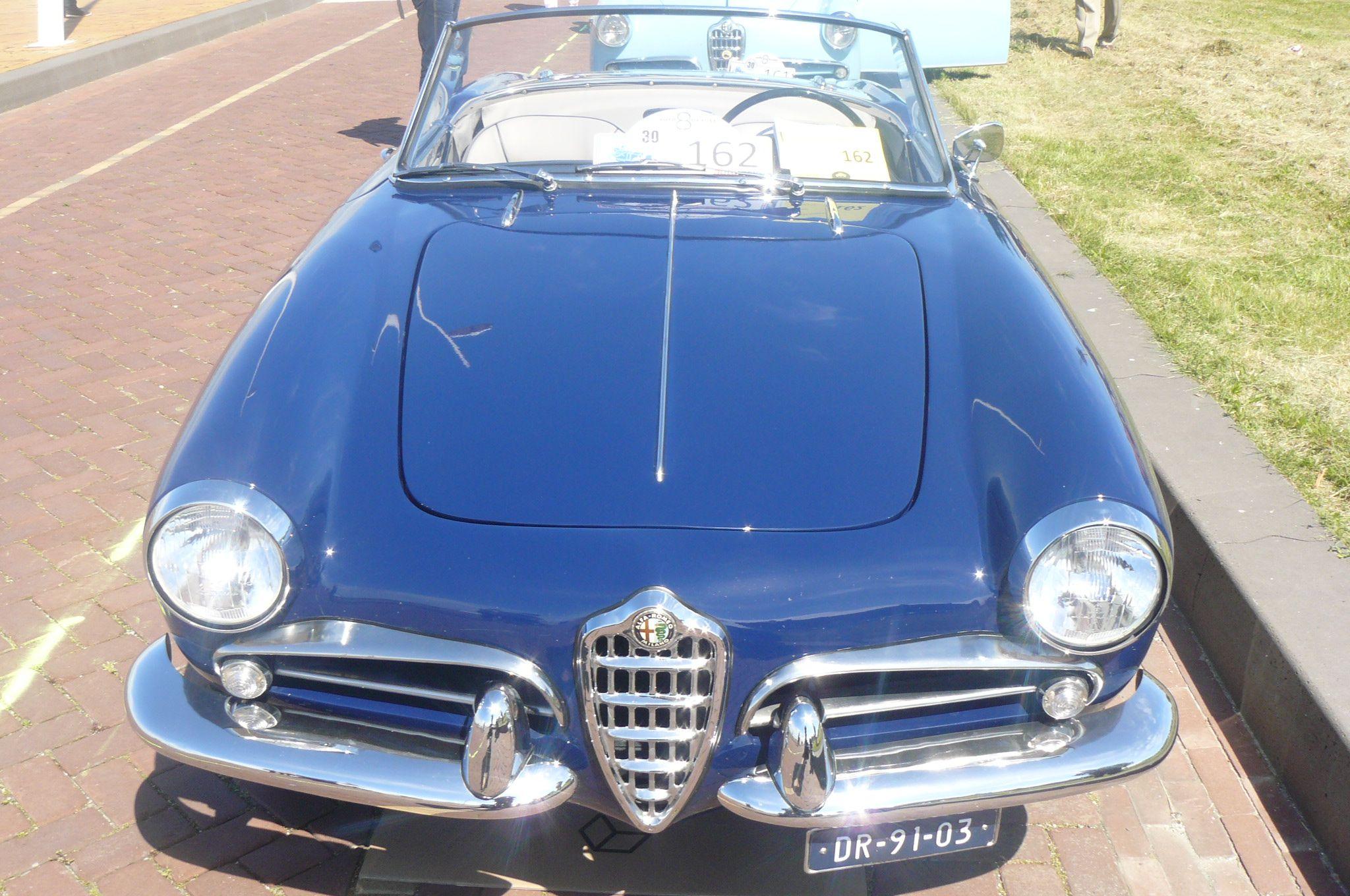 1957 Alfa Romeo Giulietta Sprint rear