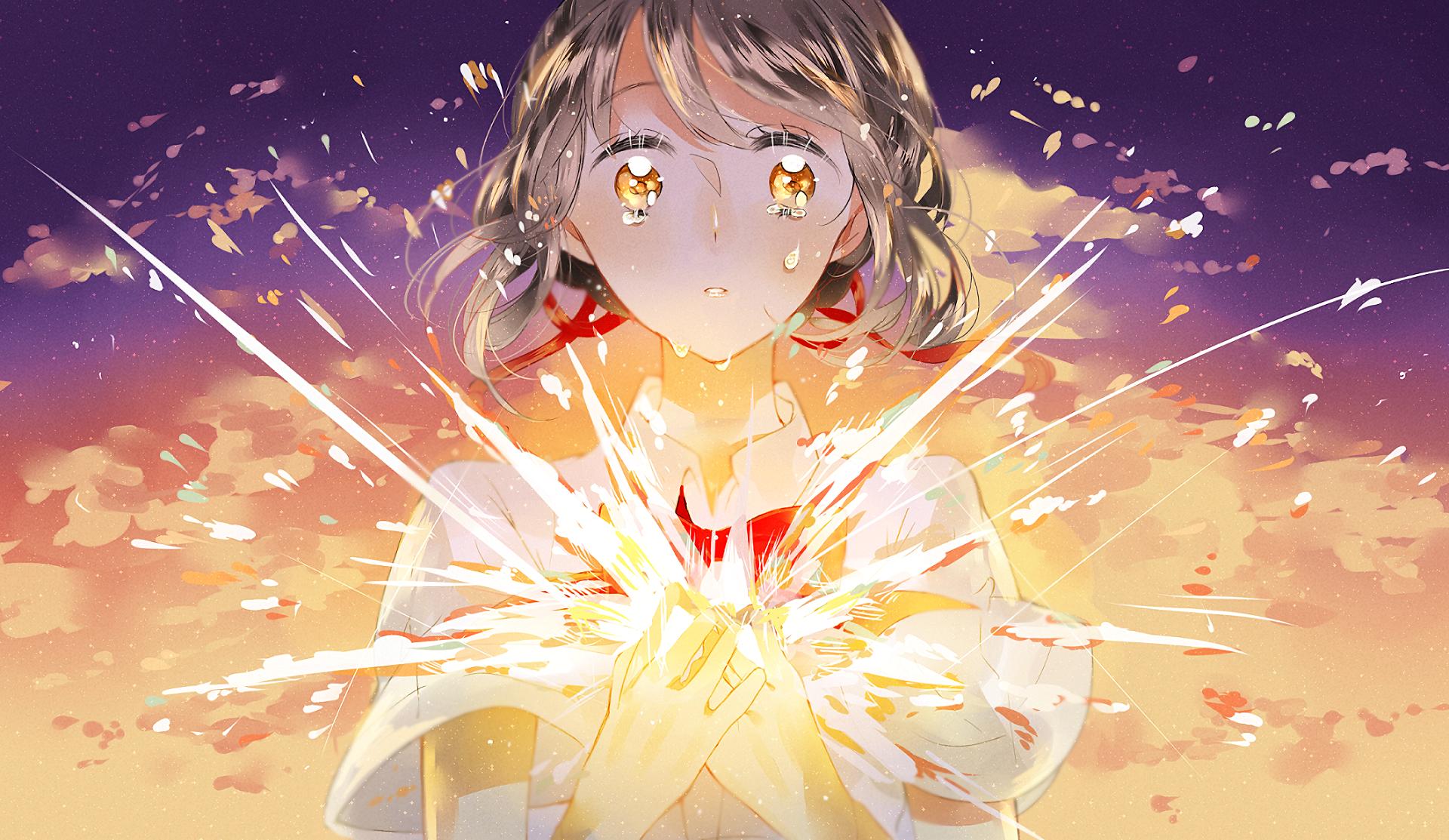 Anime Your Name Mitsuha Miyamizu Kimi No Na Wa Wallpaper