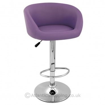 Pleasing Purple Faux Leather Eclipse Bar Stool Purple Funiture Andrewgaddart Wooden Chair Designs For Living Room Andrewgaddartcom