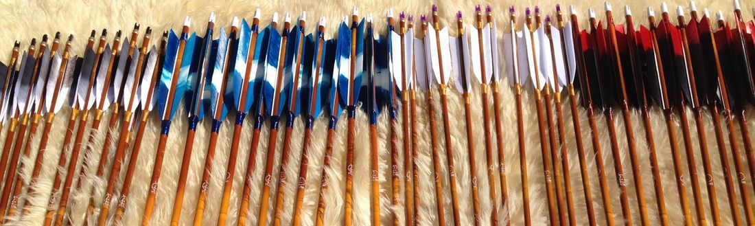 Gorgeous Carbon Arrows made by Jaap Koppedrayer | Seven