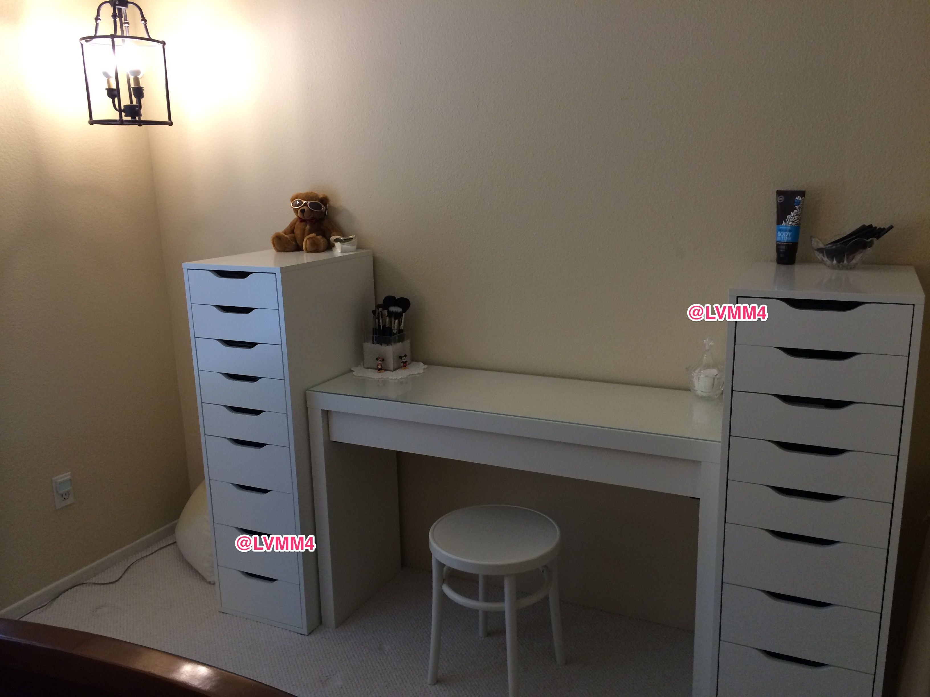 38 Trendy Ideas Diy Desk Vanity Alex Drawer In 2019 Ikea Alex