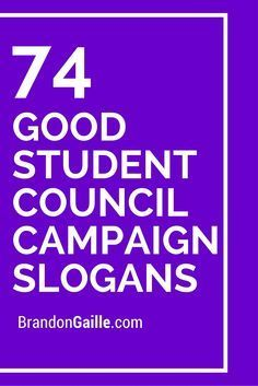 151 Good Student Council Campaign Slogans | KENZIE AND ME