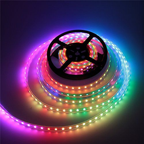 Amazon Price Tracking And History For Alitove 16 4ft 300 Pixels Ws2813 Upgraded Ws2812b Signal Break Point Continuous Transmission Rgb Led Flexible Strip Lig Led Flexible Strip Decorating With Christmas Lights Led