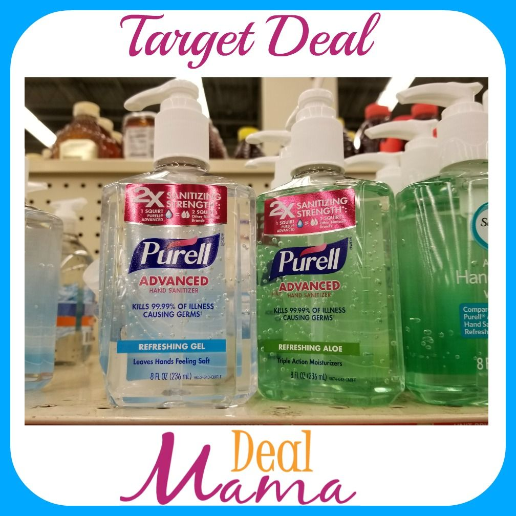 Pin By Deal Mama On Deals Hand Sanitizer Target Aloe Leaf