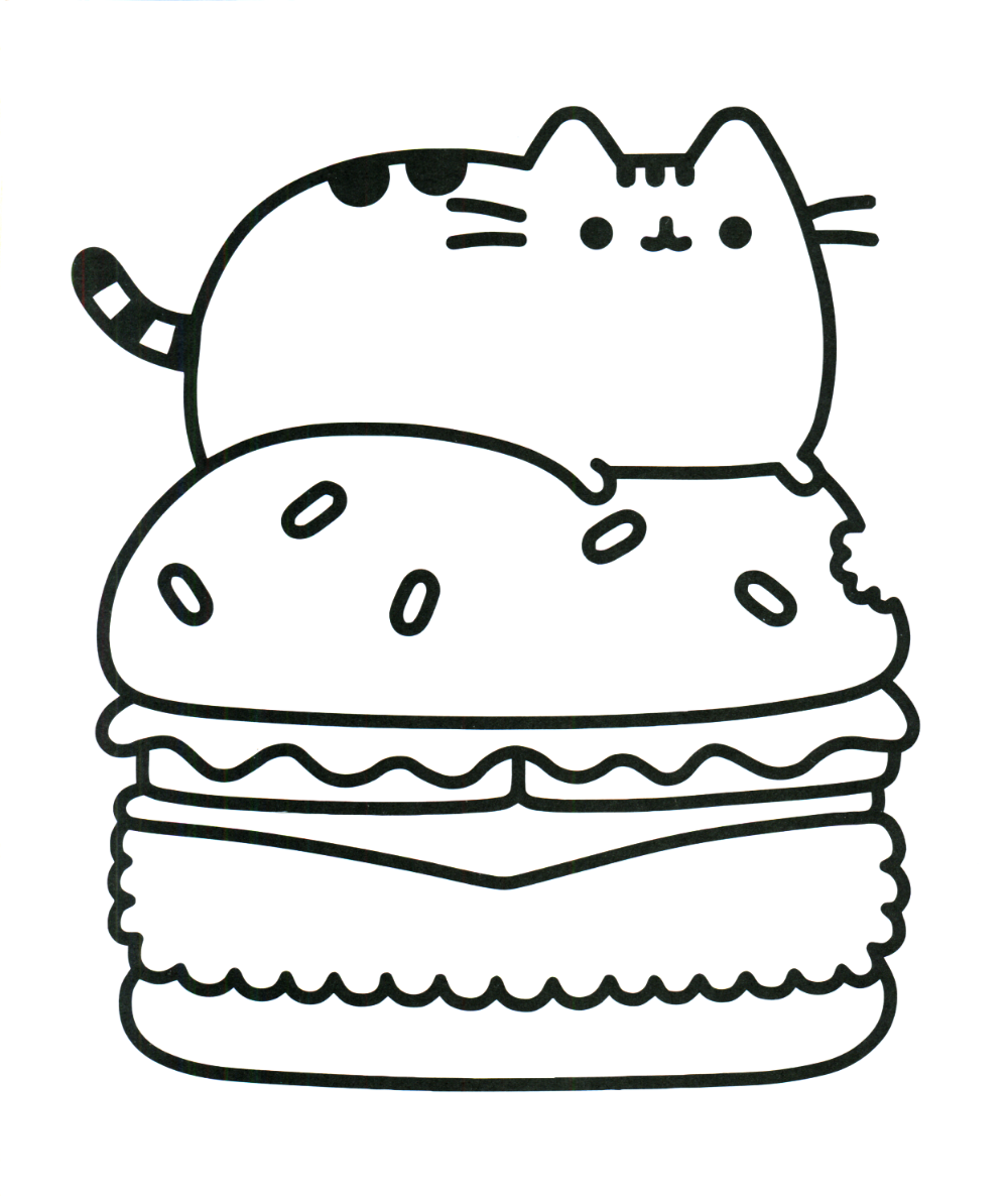 Easy Kawaii Coloring Pages Google Search Pusheen Coloring Pages Unicorn Coloring Pages Cartoon Coloring Pages