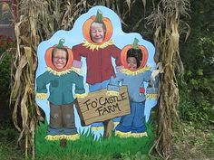 fall harvest head in a hole photo props google search - Face In Hole Halloween