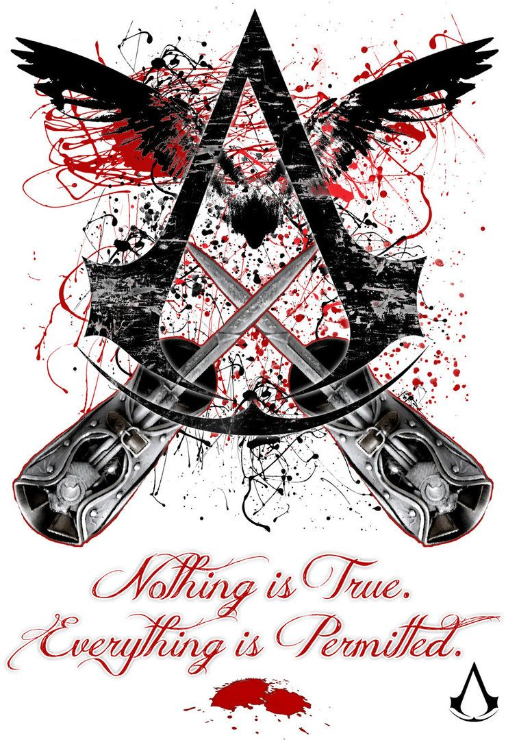 Jninja Deviantart Ac Design Nothing Is True Everything Is
