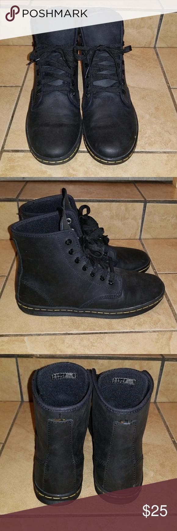 5b4de7d536 Doc Martens Black leather