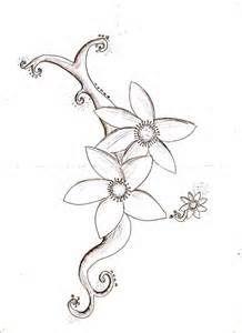 Flower Designs Drawings Bing Images Flower Sketches Flower