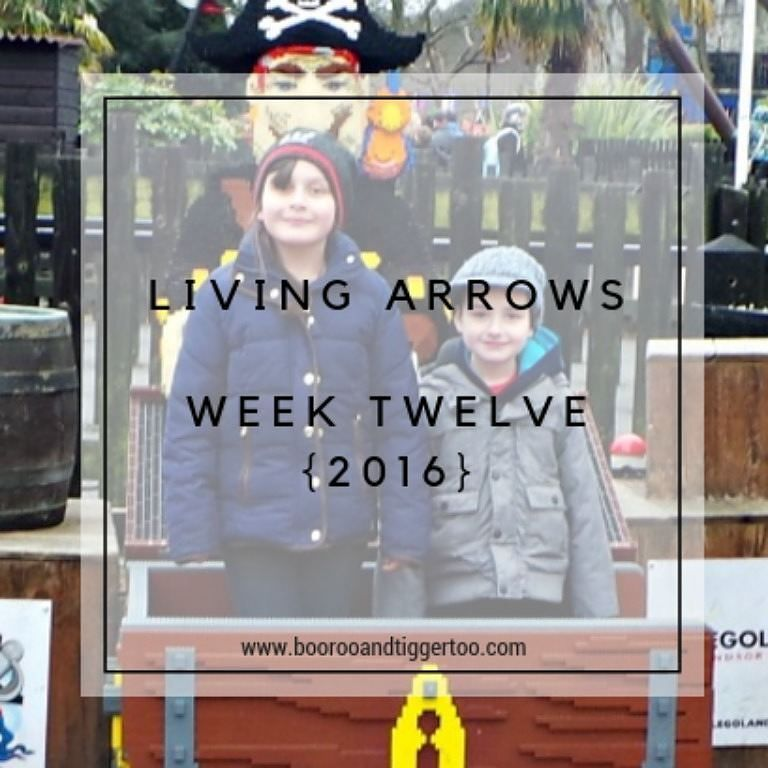 Sharing my #livingarrows post this evening. Reflecting on how adventurous Tigger has become
