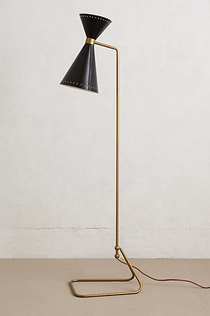 Novara Floor Lamp | Floor lamp, Anthropologie and Traditional