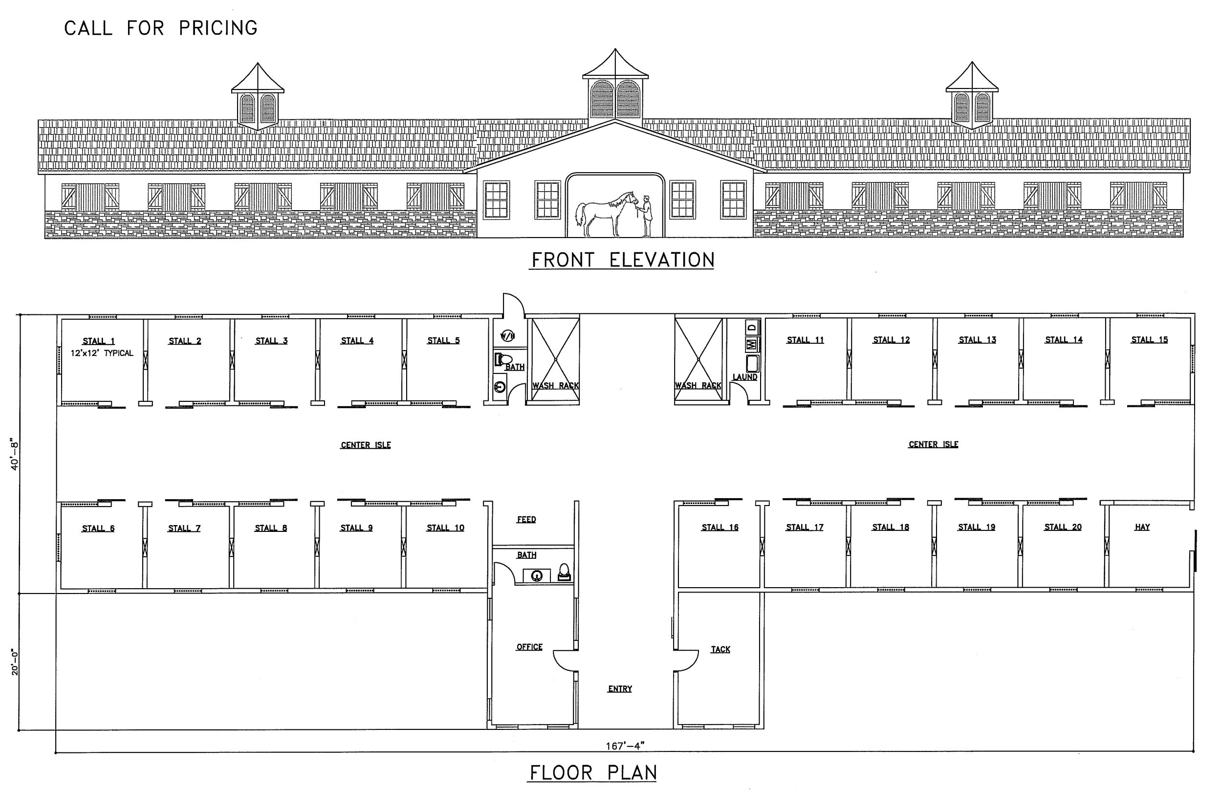 Closest Design To What I Want But Would Still Need Some Tweaking Http Jjocala Com Horse Barns Gallery Horse Barn Plans Horse Barn Designs Dream Horse Barns