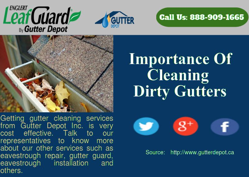 If You Fail To Clean It The Eavestrough And Gutter Start To Show Some Warning Signs These Signs May Affect Your Budget Cleaning Gutters Gutter Clogged Gutter