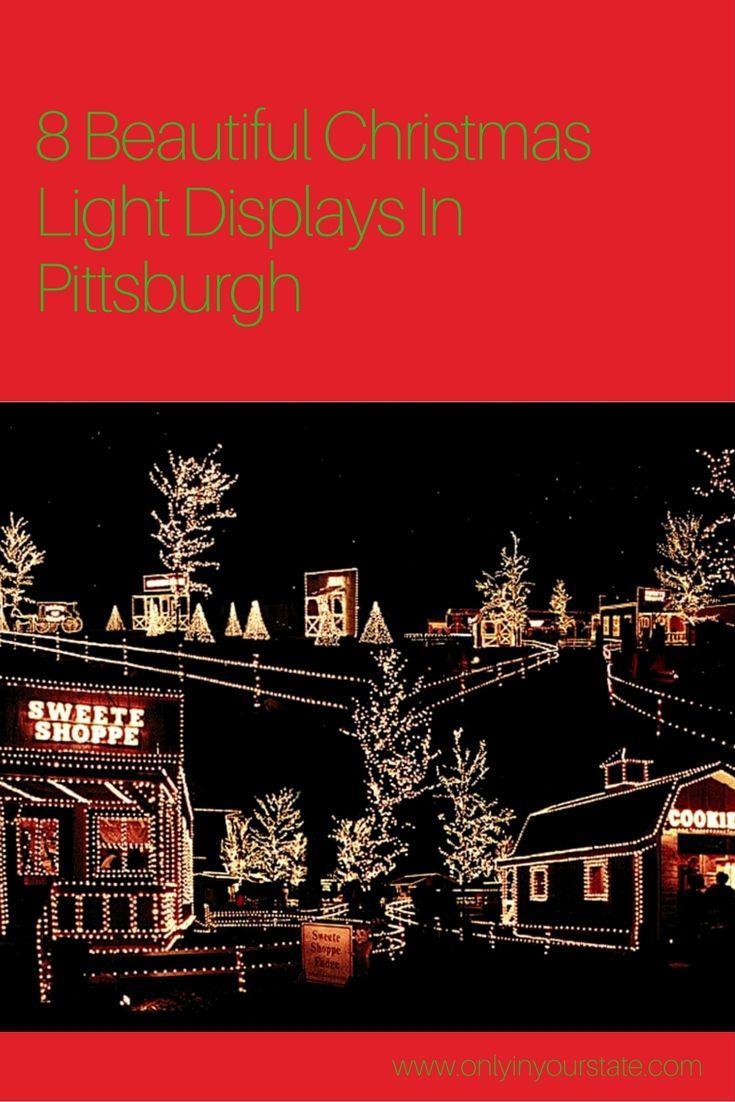 Christmas In Pittsburgh 2019.Pittsburgh Pa Pennsylvania Christmas Lights Come Visit