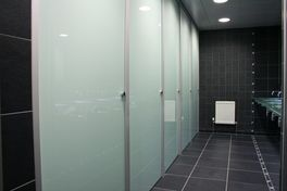 Bathroom Partitions Massachusetts glass toilet cubicles - oasis linethrislington cubicles upon