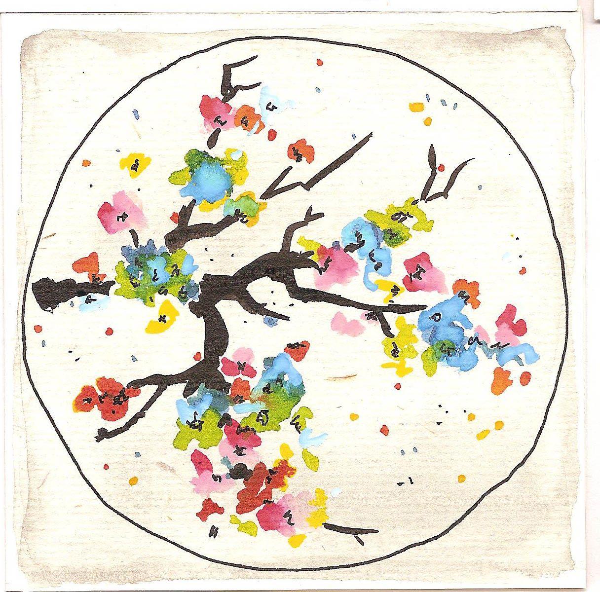 carte postale * pièce unique * par Calico Brindille