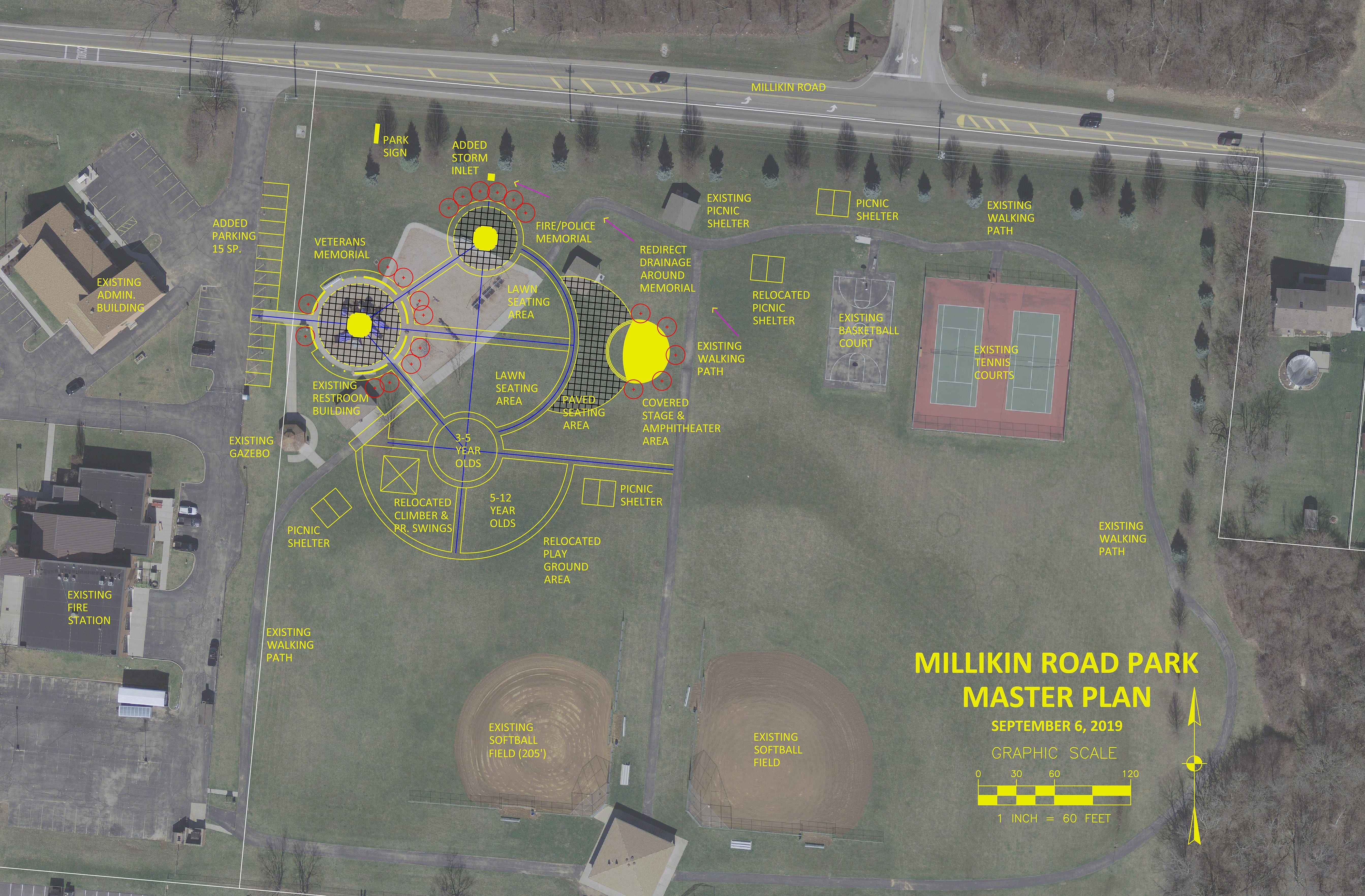 Park plan veterans memorial could anchor fairfield twp s