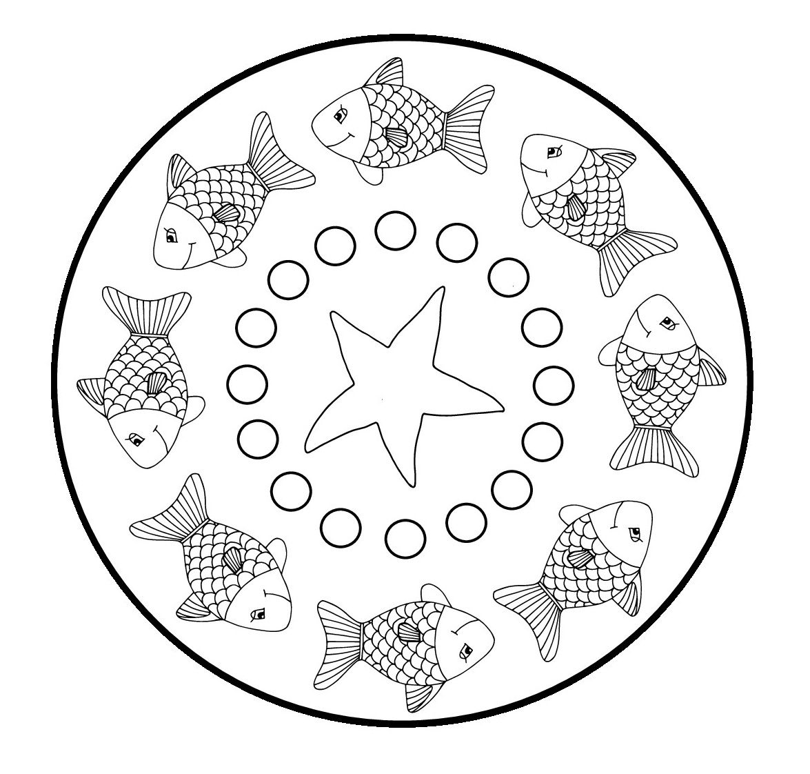 Mandala Vissen