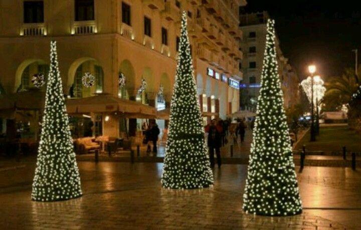 Navidad en Thessaloniki, Grecia