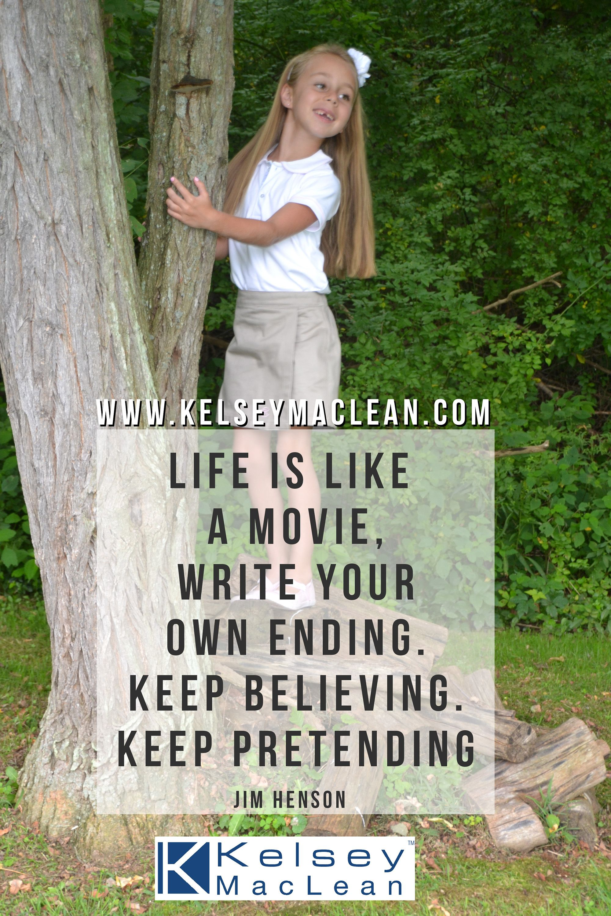 """Life is like a movie, write your own ending. Keep"