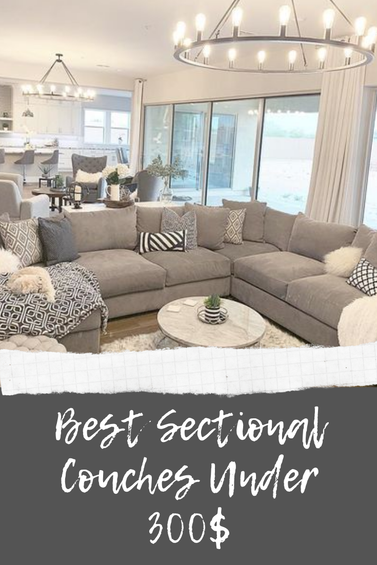 Top 6 Best Sectional Couches Under 300 Updated 2020 In 2020