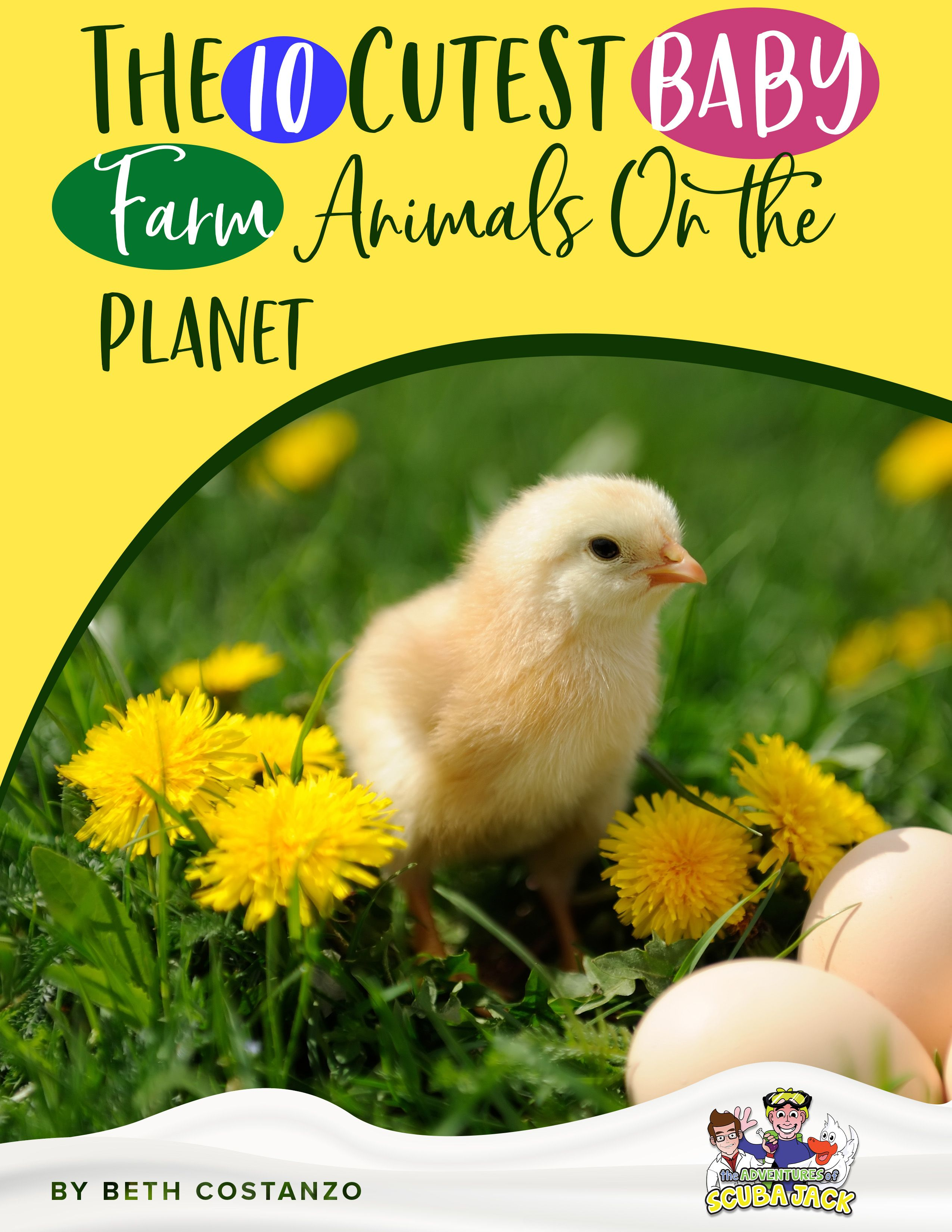 10 Cutest Baby Farm Animals In