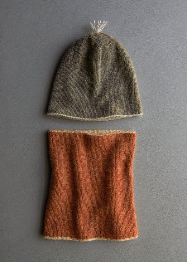 Reversible Hat + Reversible Cowl in New Colors | Purl Soho ...
