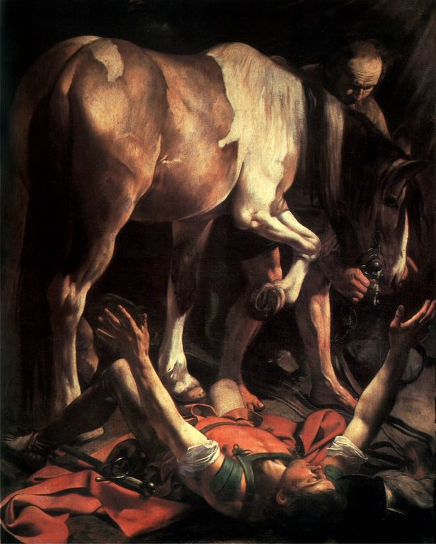 Cave to Canvas, Conversion of St. Paul - Caravaggio, c. 1600-01