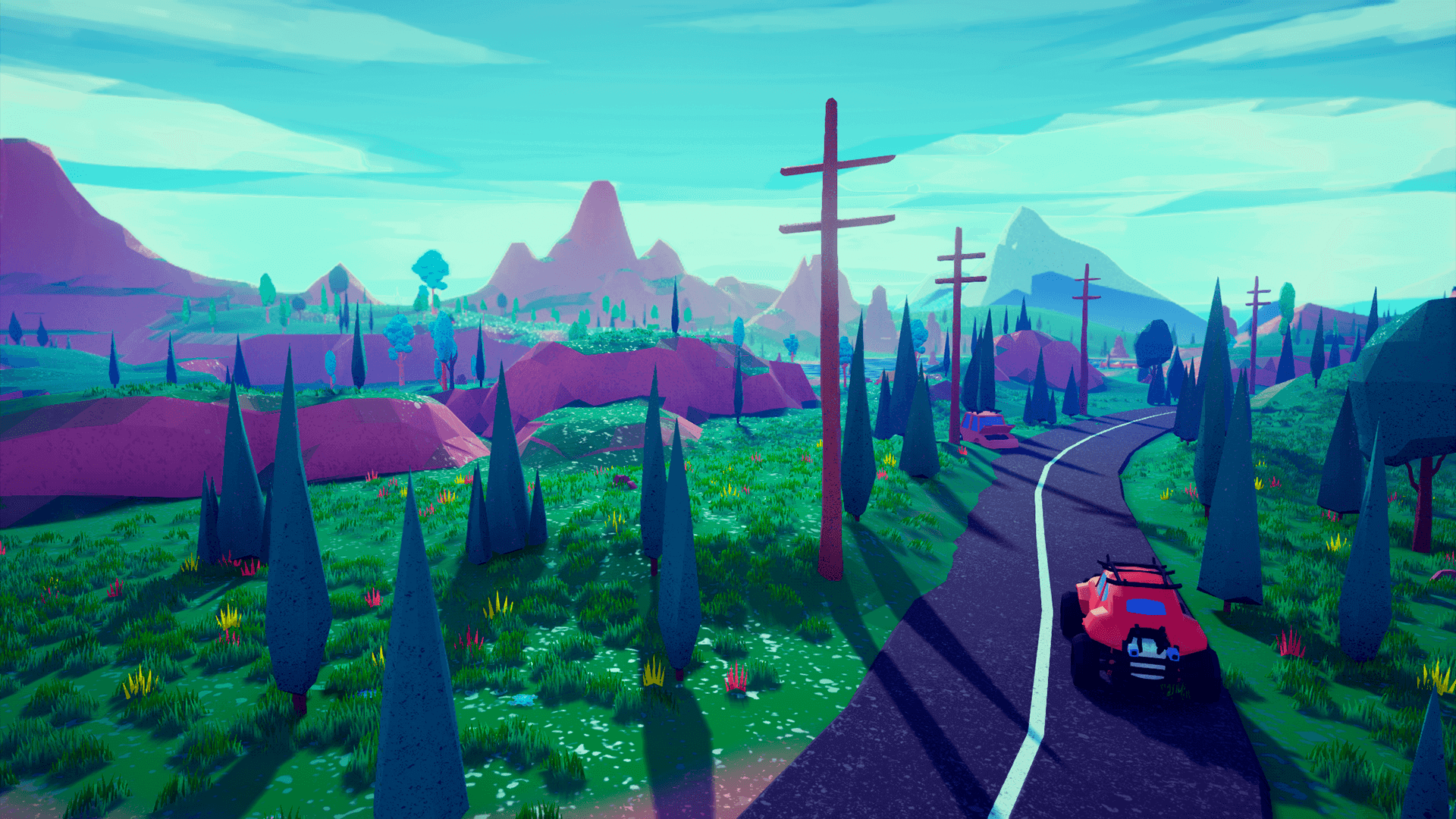 Low Poly Stylized Environment by Emek Ozben in Environments