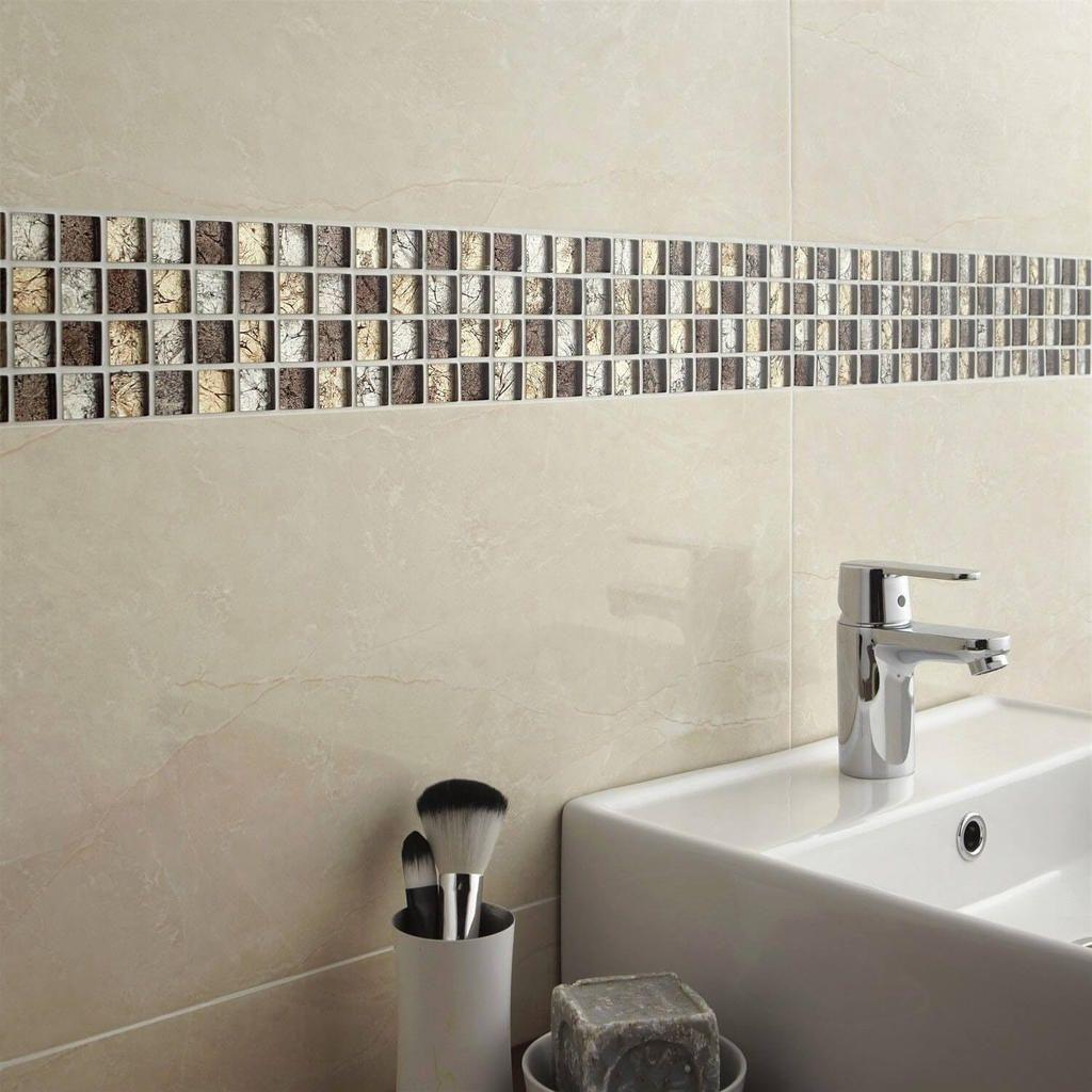 20 Faience Salle De Bain Brico Depot Bathroom Mosaic Tiles Bathroom Small Bathroom