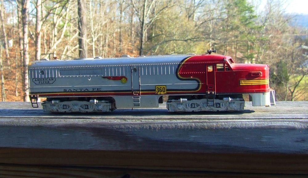 Train Engine For Sale >> American Flyer Diesel Locomotive Train Engine Santa Fe Cheap No