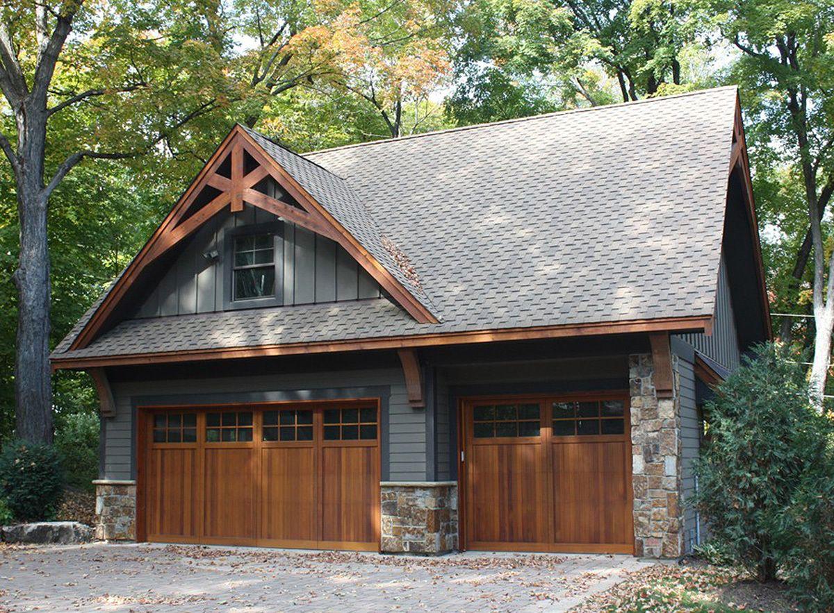 Plan 14630rk Rugged Garage With Bonus Room Above Garage Plans With Loft Garage Design Garage Plans Detached