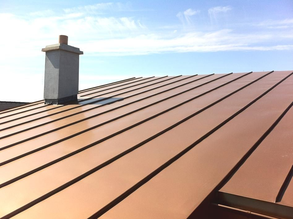 Copper Can Be Used Outdoors And Indoors Modern Architecture And Interior Design Promote Copper As An Ideal Material For H Copper Roof Roofing Cape Cod Exterior