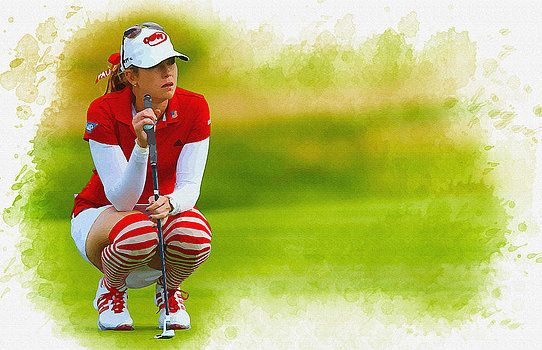 Don Kuing - Paula Creamer - the Ricoh Women British Open