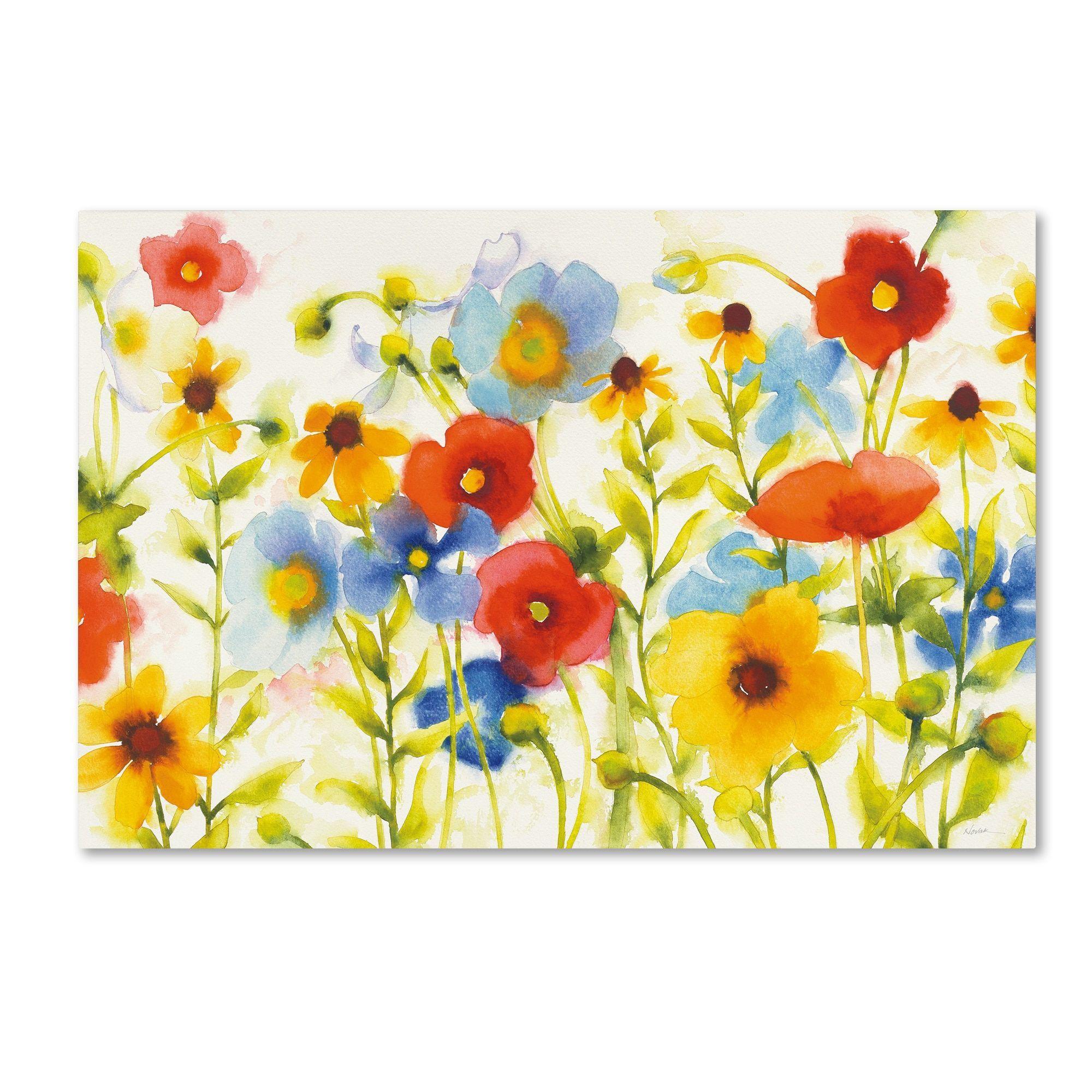 Shirley Novak \'Americana Meadow I Crop\' Canvas Art | Products ...