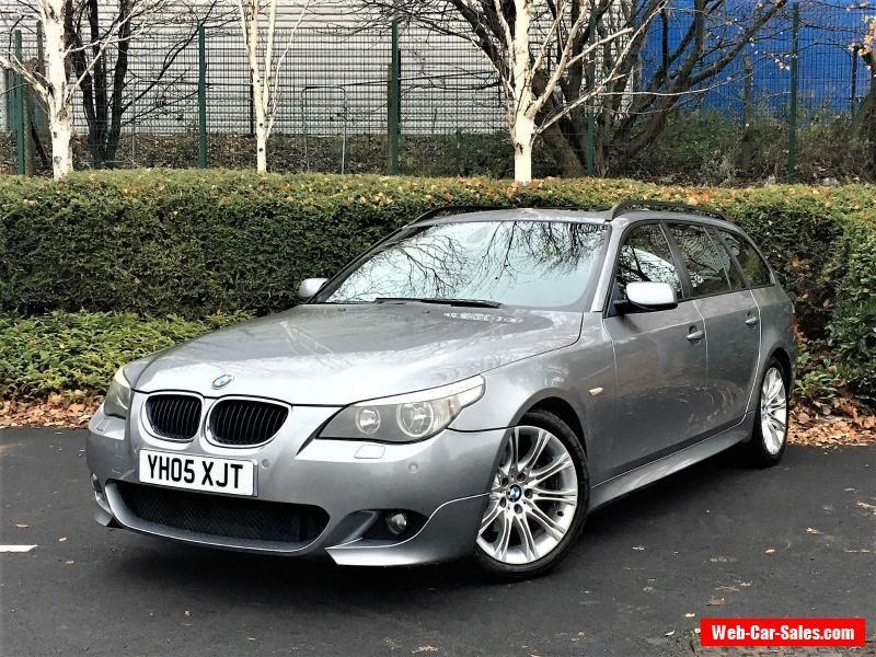 2005 BMW 5 SERIES 525D M SPORT TOURING 2.5 DIESEL AUTO ESTATE NOT ...