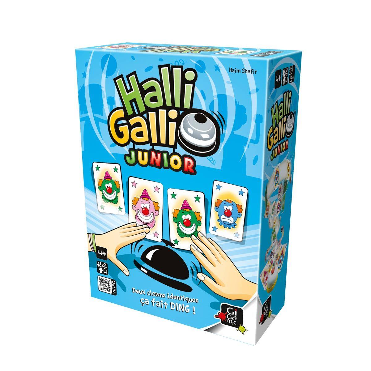 Jeu de société Halli galli junior Gigamic pour enfant de 4 ans à 8 ans - Oxybul éveil et jeux ...