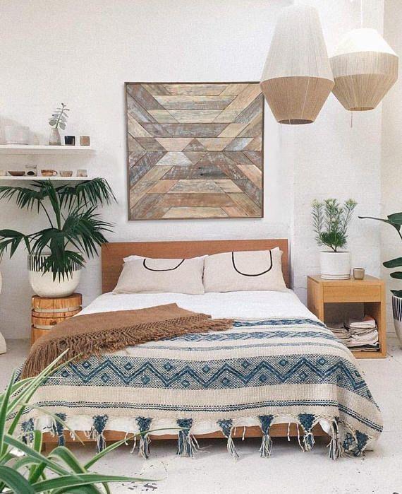 Native Star - Wood wall art, wall decor, rustic art, boho ...