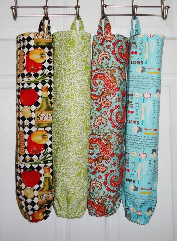 Plastic Bag Holder Grocery Bag Storage Kitchen Bag by