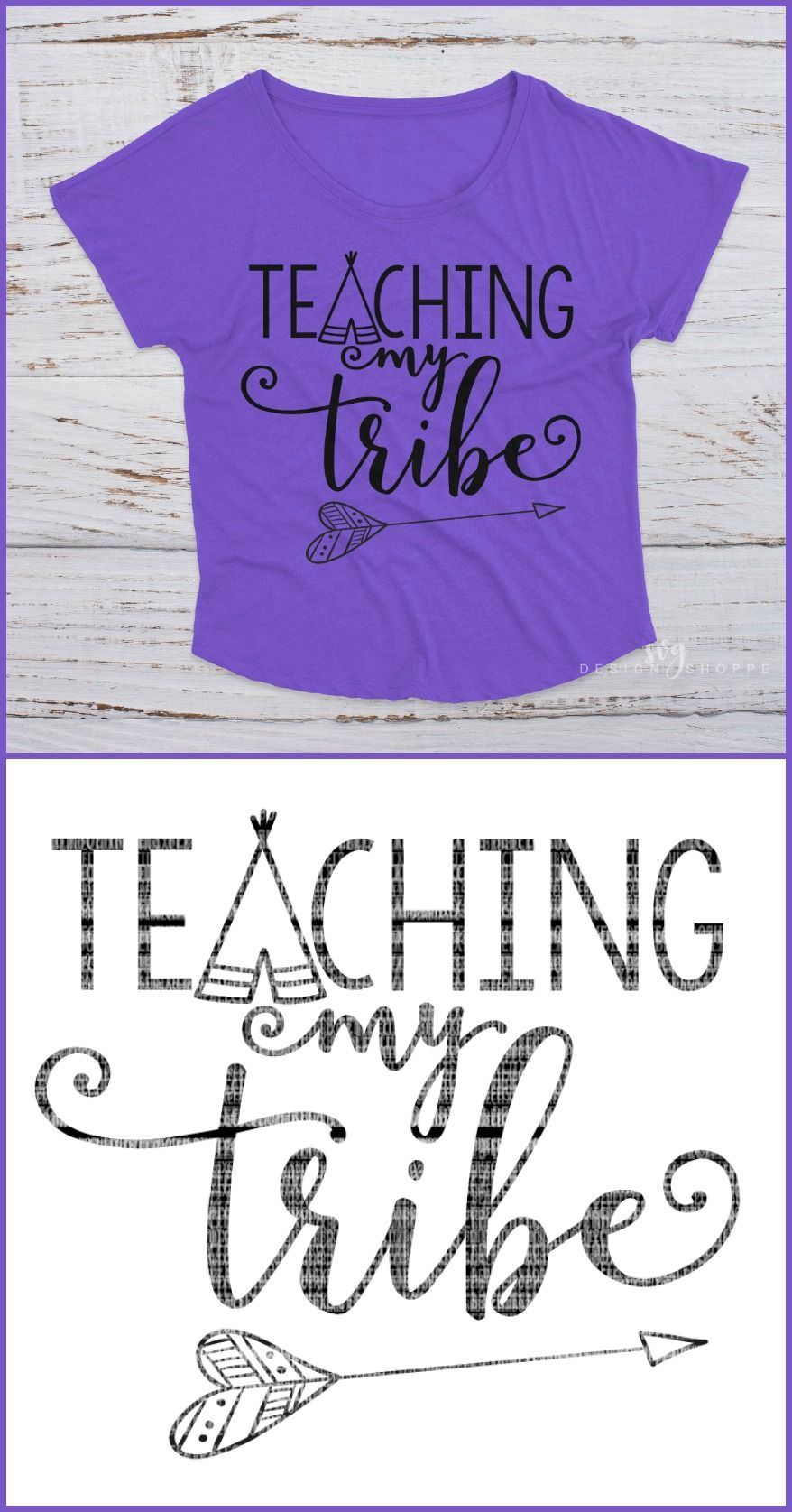 Teaching My Tribe Teaching My Tribe Teacher Svg Files Iron On Decals Fall Svg Dxf For Cricut Svg Files Sv Teaching Diy Vinyl Projects Teaching Nonfiction