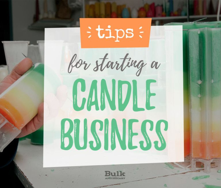 Tips For Starting A Candle Business Candles Pinterest Candles