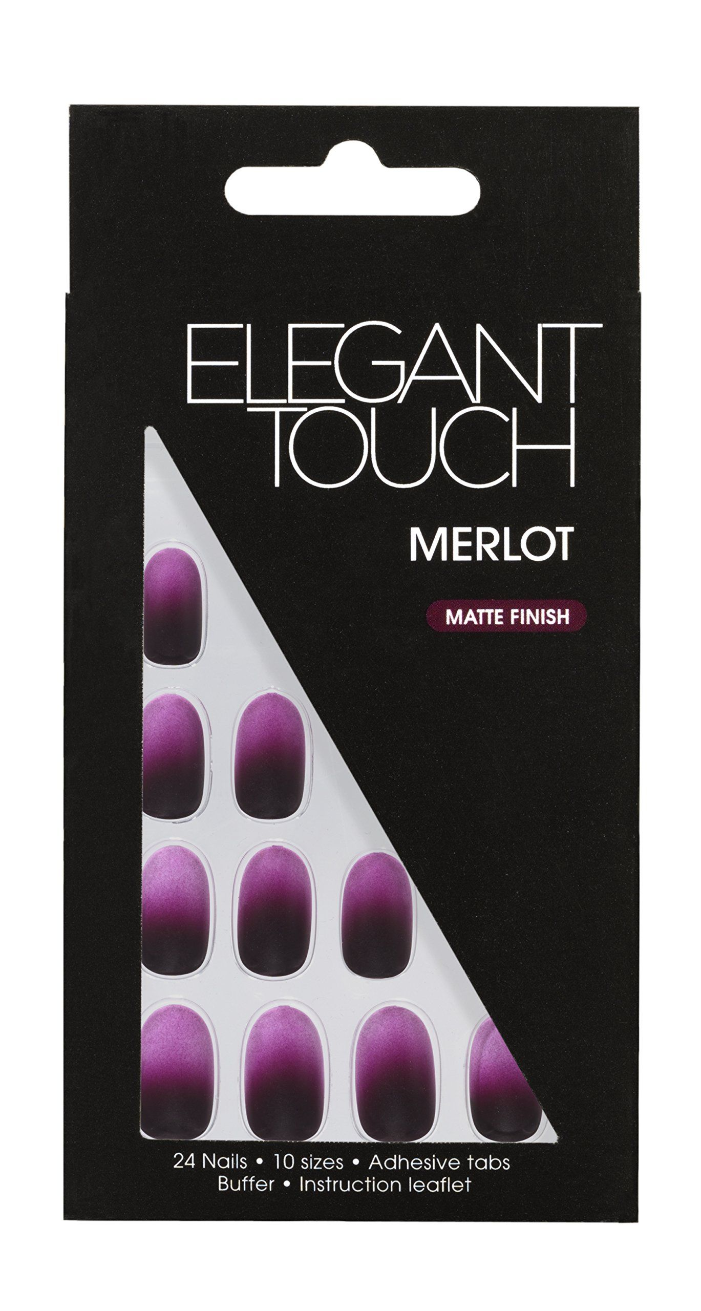 Elegant Touch Trend Ombre, Merlot | N A I L S | Pinterest