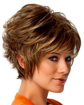 Gala Gabor Wigs Coiffures cheveux courts, Cheveux