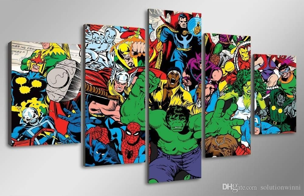 15 Best Marvel Canvas Wall Art Wall Art Ideas Marvel Canvas Picture Canvas Decor Canvas Art Wall Decor