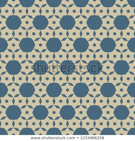 Elegant vector geometric seamless pattern simple gold and blue texture with small stars floral shapes circles grid net abstract minimal background also rh in pinterest