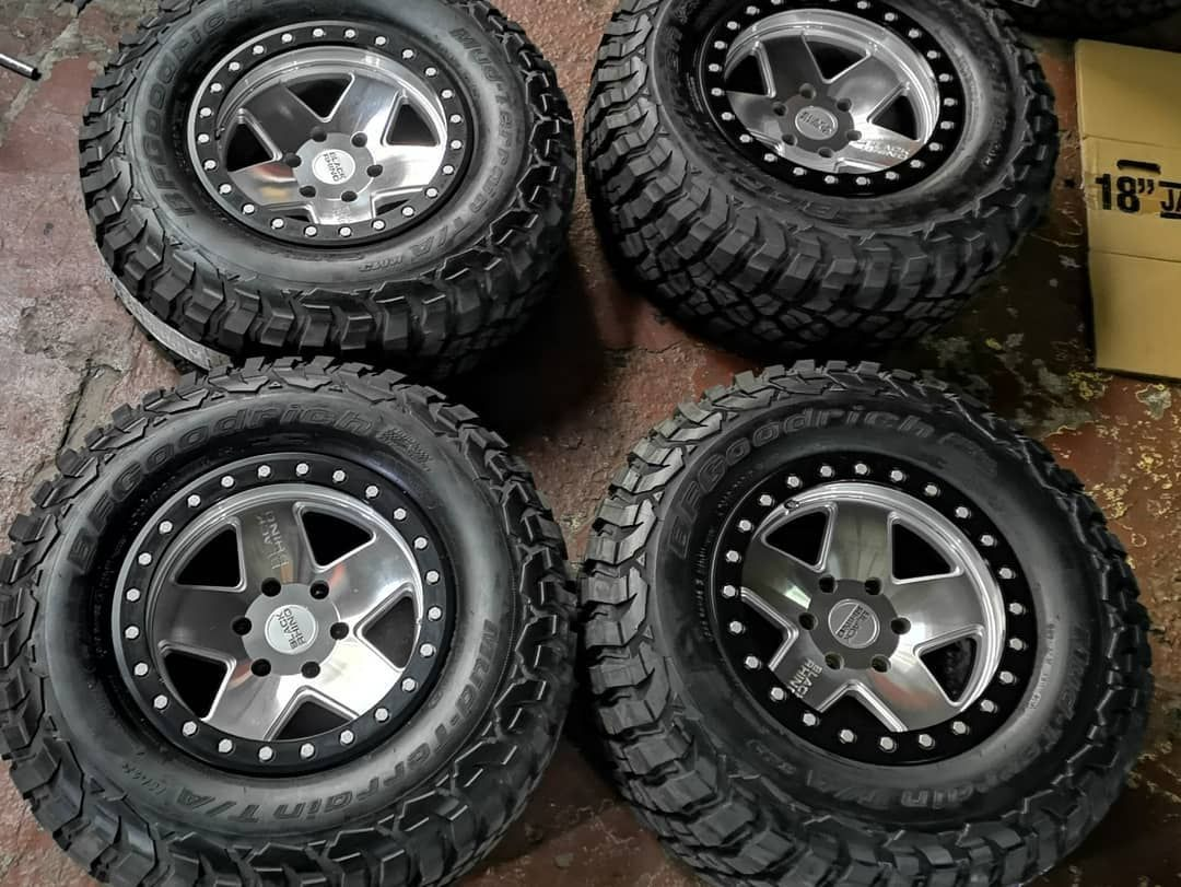 Atoy customs 4x4 and bodykits on instagram 1 off mags and tires set in