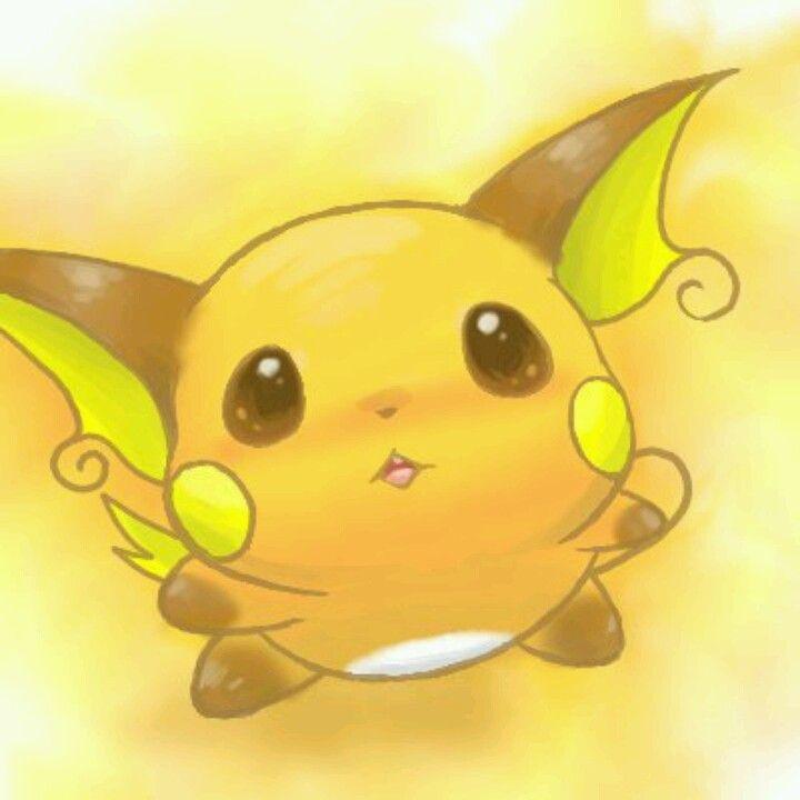 Pokemon - Raichu omg!! Soo adorable I can't help it | Cute ... Pichu Pikachu Raichu Rap