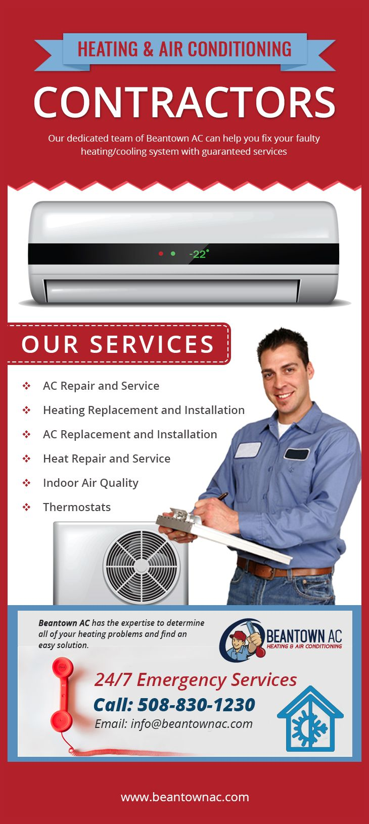 With the increasing demand of heating and airconditioning